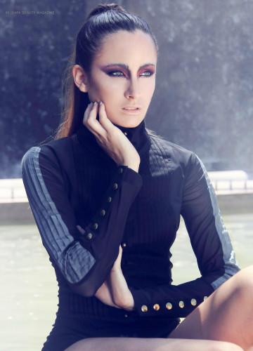 Monica @ Gorgeous Group for Dark Magazine