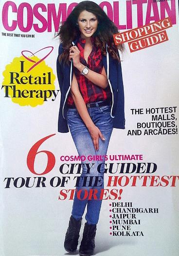 Gorgeous Ksenia Cover of Cosmopolitan!